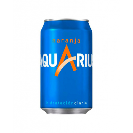 Aquarius Naranja · lata · 33cl