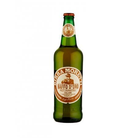 Birra Moretti Baffo D´Oro · botella · 33 cl